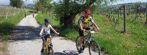 pedalata in natura