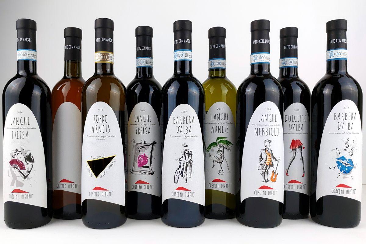 cascina albano vini