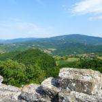 Una veduta panoramica dalla Torre di Dernice
